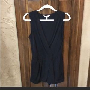 BCBG Black romper size small casual or dressy